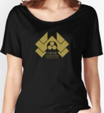 Nakatomi Corporation - Gold Alternate Women's Relaxed Fit T-Shirt