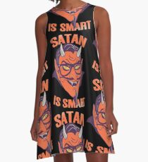 Satan Is Smart A-Line Dress