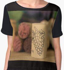 Grapes  Women's Chiffon Top