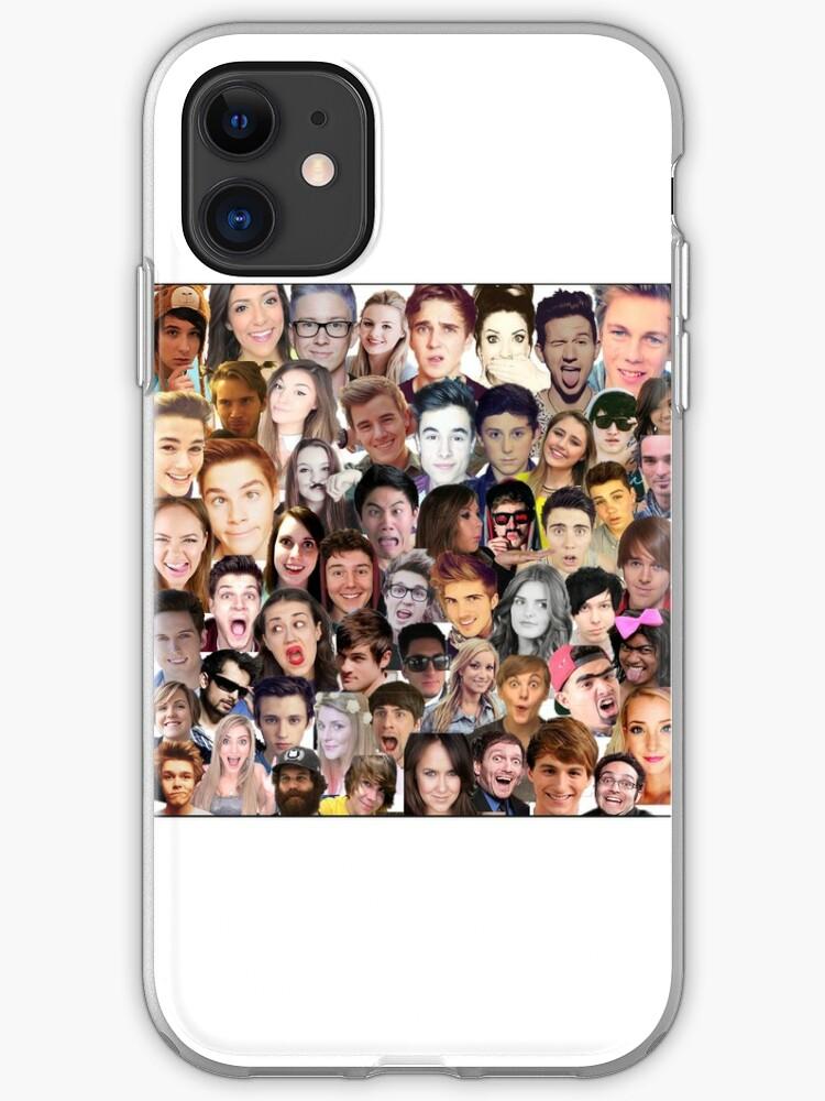 Youtubers Cartoon iphone case