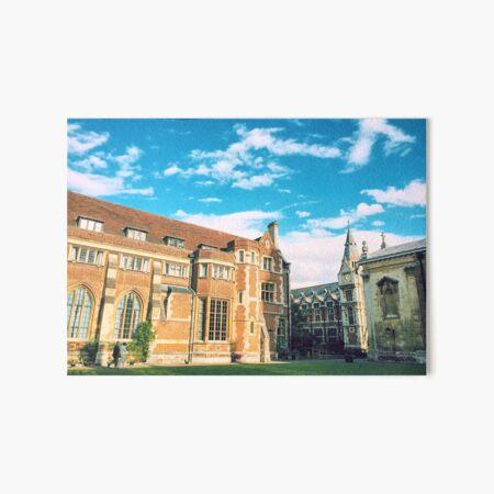 Pembroke College, Cambridge Art Board Print
