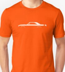 Car silhouette for 1968 Dodge Dart GTS enthusiasts T-Shirt