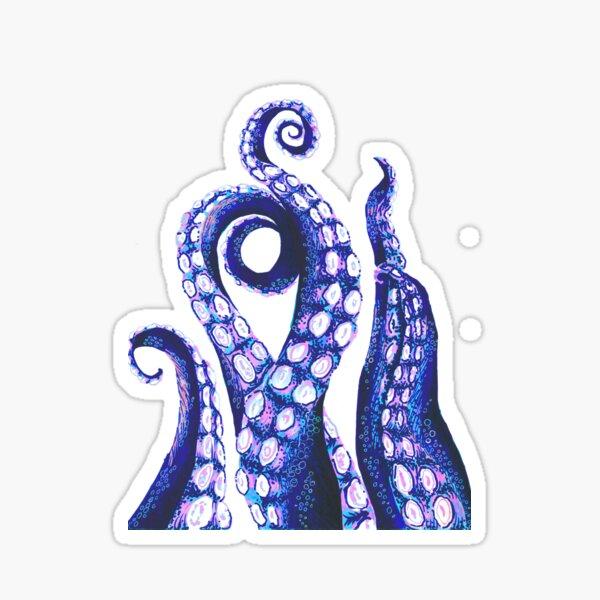 Tentacules de poulpe Sticker