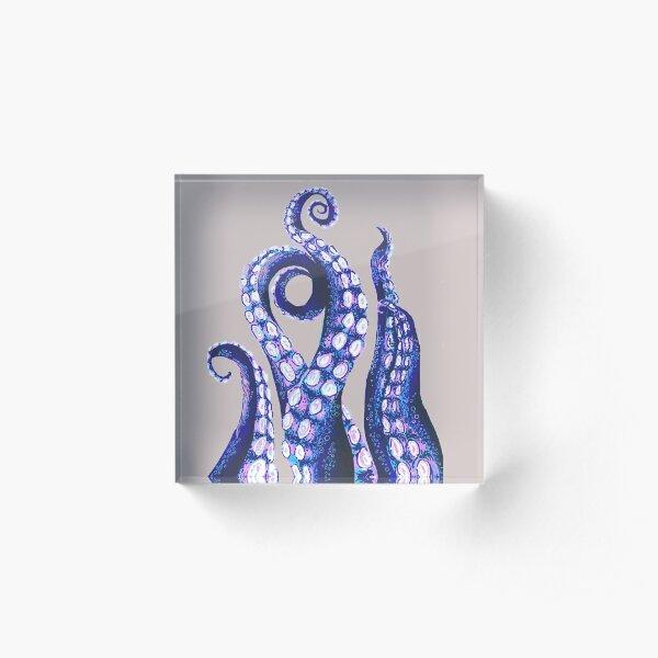 Octopus Tentacles Acrylic Block
