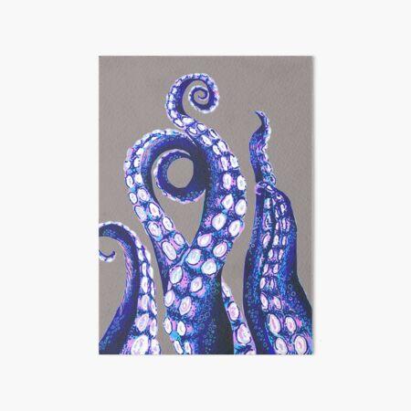 Octopus Tentacles Art Board Print