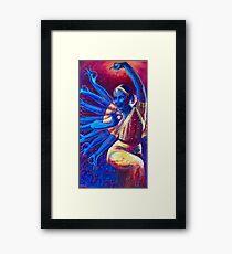 Goddess Nataraj Framed Print