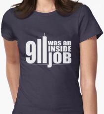 9/11 Was an Inside Job Womens Fitted T-Shirt