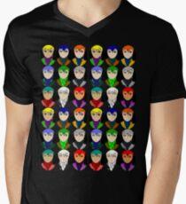 Anime Men's V-Neck T-Shirt