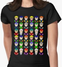 Anime Women's Fitted T-Shirt
