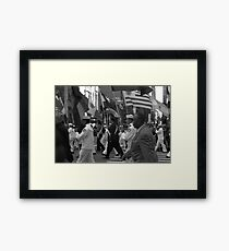 50th Annual Hispanic Day Parade NYC Framed Print