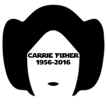 Carrie Fisher by Designr