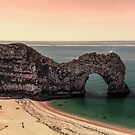 Durdle Door ,Dorset, UK by Pauline Tims