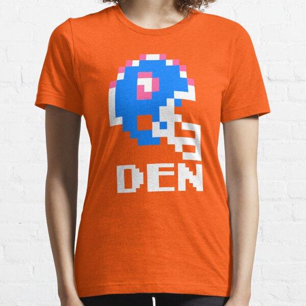 Tecmo Bowl, Tecmo Super Bowl, Tecmo Bowl Shirt, Tecmo Bowl T-shirt, Tecmo Bowl Helmet, DEN Helmet, DEN Essential T-Shirt