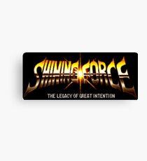 Shining Force (Genesis Title Screen) Canvas Print