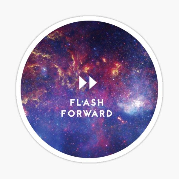 Flash Forward Logo Sticker