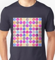 Colorful Floral Pattern II Unisex T-Shirt