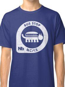 Neko Bus Stop Classic T-Shirt