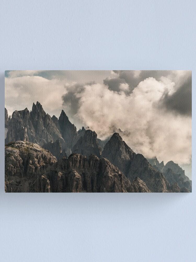 Alternate view of Rock 'n' Sky Canvas Print