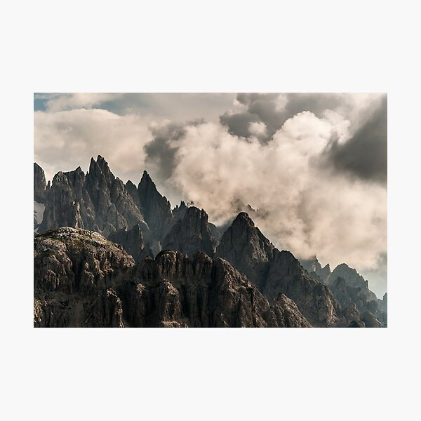 Rock 'n' Sky Photographic Print