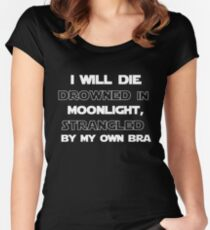 A Fantastic Obituary Women's Fitted Scoop T-Shirt