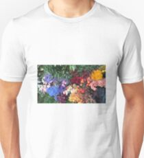 Beautiful colourful flowers  Unisex T-Shirt