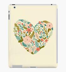 Floral Heart iPad Case/Skin
