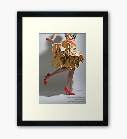 Le Petit Echo de la Mode Framed Print
