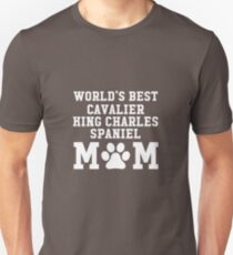 World's Best Cavalier King Charles Spaniel Mom Unisex T-Shirt