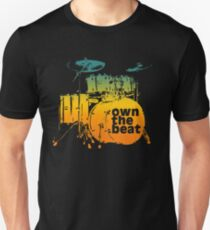 Drummer T shirt - own the beat T-Shirt
