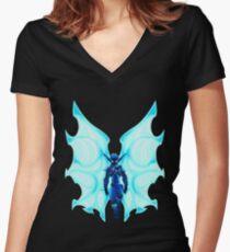 Light Jak Women's Fitted V-Neck T-Shirt