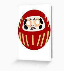 Daruma Doll  Greeting Card