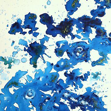 Blue Garden  by joybellejoy