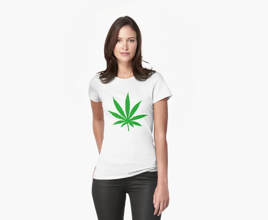 Marijuana Leaf by MarijuanaTshirt