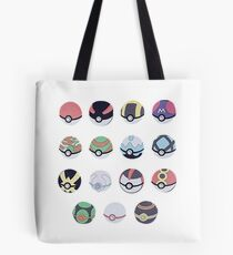Pokemon Balls Tote Bag