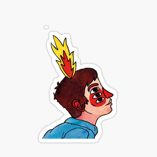NECK DEEP * LIFE'S NOT OUT TO GET YOU BOY Sticker