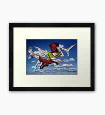 Airmail Graffiti - Coming to a wall near you Framed Print