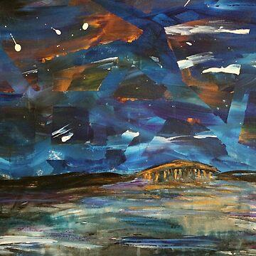 Bridge Over the Stars  by joybellejoy