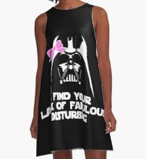 Fabulous Darth Vader A-Line Dress