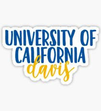 University of California - Davis Sticker