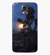 Full Moon Rising, Joshua Tree Case/Skin for Samsung Galaxy