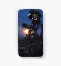 Full Moon Rising, Joshua Tree Samsung Galaxy Case/Skin