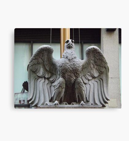 Original Pennsylvania Station Eagle Sculpture, Penn Station, New York City Canvas Print