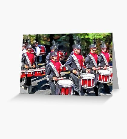 Drum Section Greeting Card