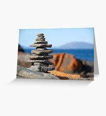 Rock stack Greeting Card