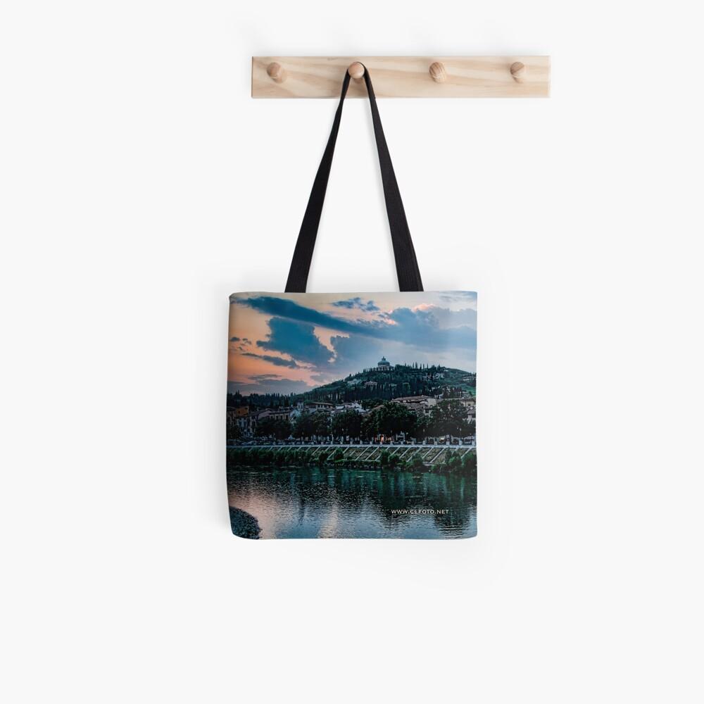 Hillside above Verona, Italy Tote Bag