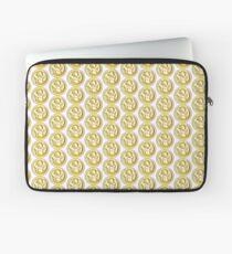 Gold circle dragon  Laptop Sleeve