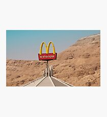McDonalds-On-Sea Photographic Print