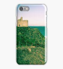 green fenced path to Ballybunion beach iPhone Case/Skin