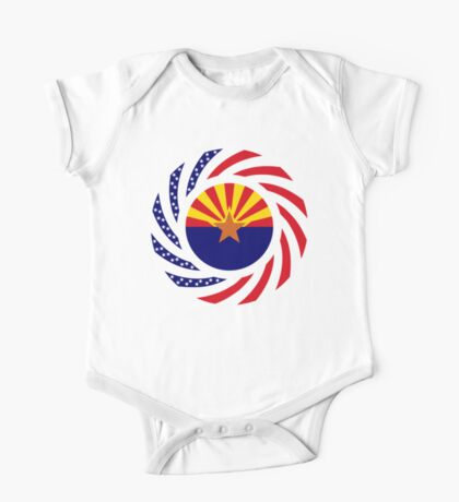 Arizonan Murican Patriot Flag Series Kids Clothes
