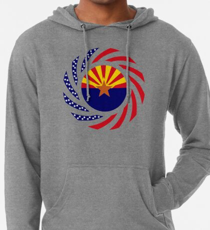 Arizonan Murican Patriot Flag Series Lightweight Hoodie